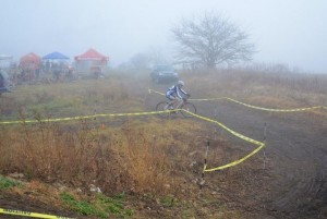 Foggy Start to Lost Trail Cyclocross