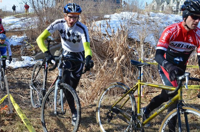 Wintery Mix #1, the First Cyclocross Race of 2013