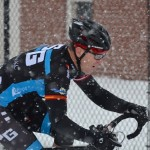 Snowy and Slick Day Two of Racing at 'Cross of the Old Year 2012