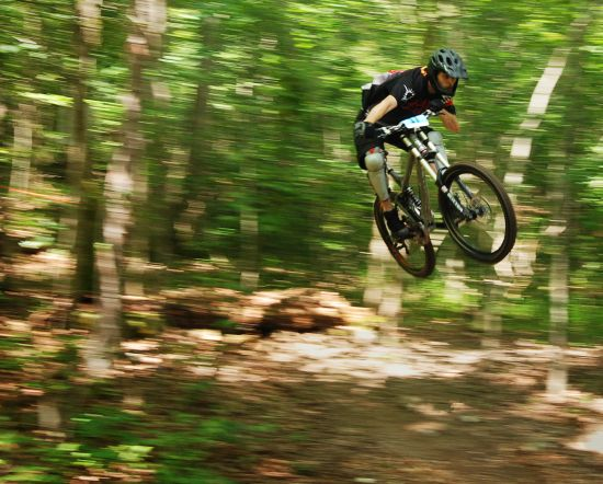 Eureka Springs Fat Tire Festival Downhill