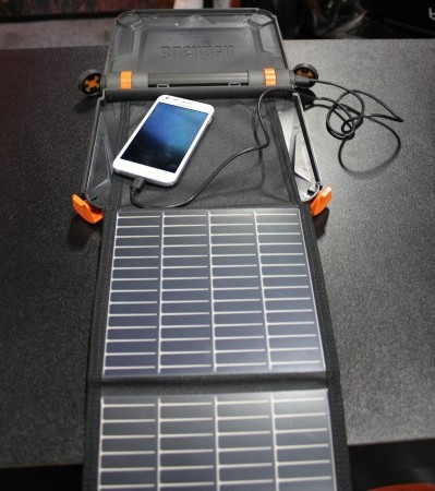 SolarBook Phone Charger