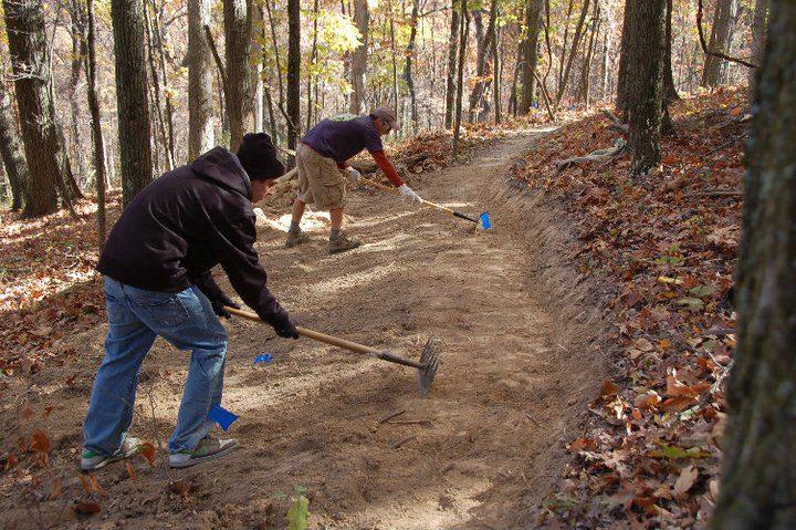 MO: Bubba Cyclocross #4 and Greensfelder Trailbuilding