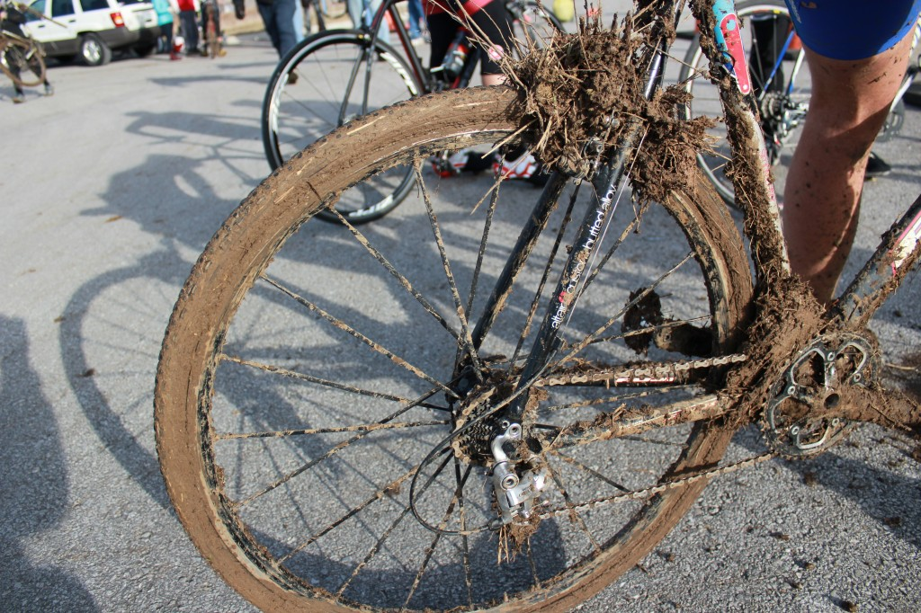 Mud Caked Bikes at New Longview Cyclocross