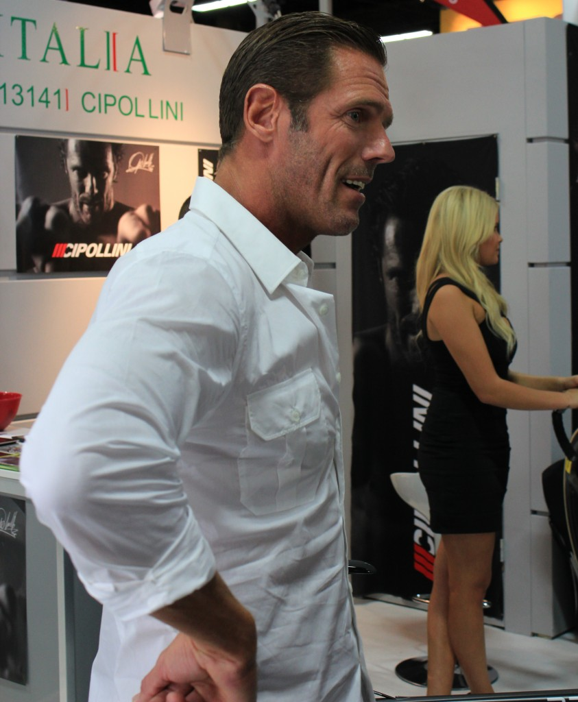 Mario Cipollini at Interbike