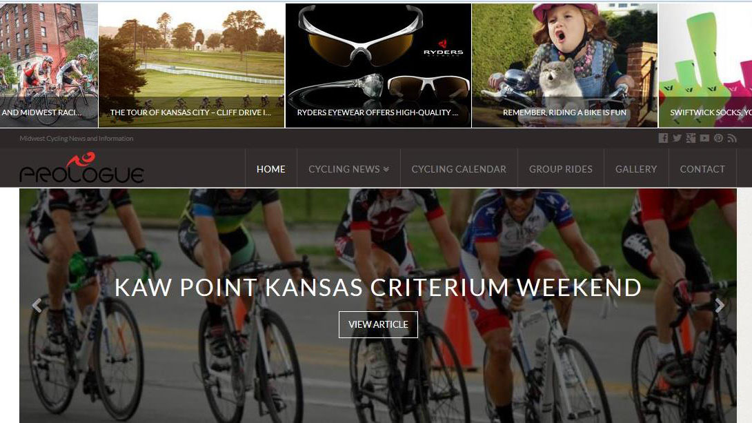 Prologue Cycling Magazine Launches New Website