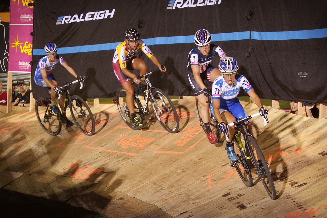 Katerina Nash, Katie Compton, Meredith Miller and Catharine Pendrel at CrossVegas 2014