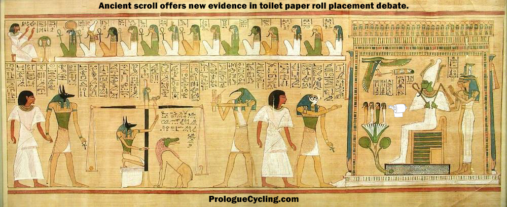 Ancient Scroll Reveals New Evidence in Toilet Paper Roll Debate